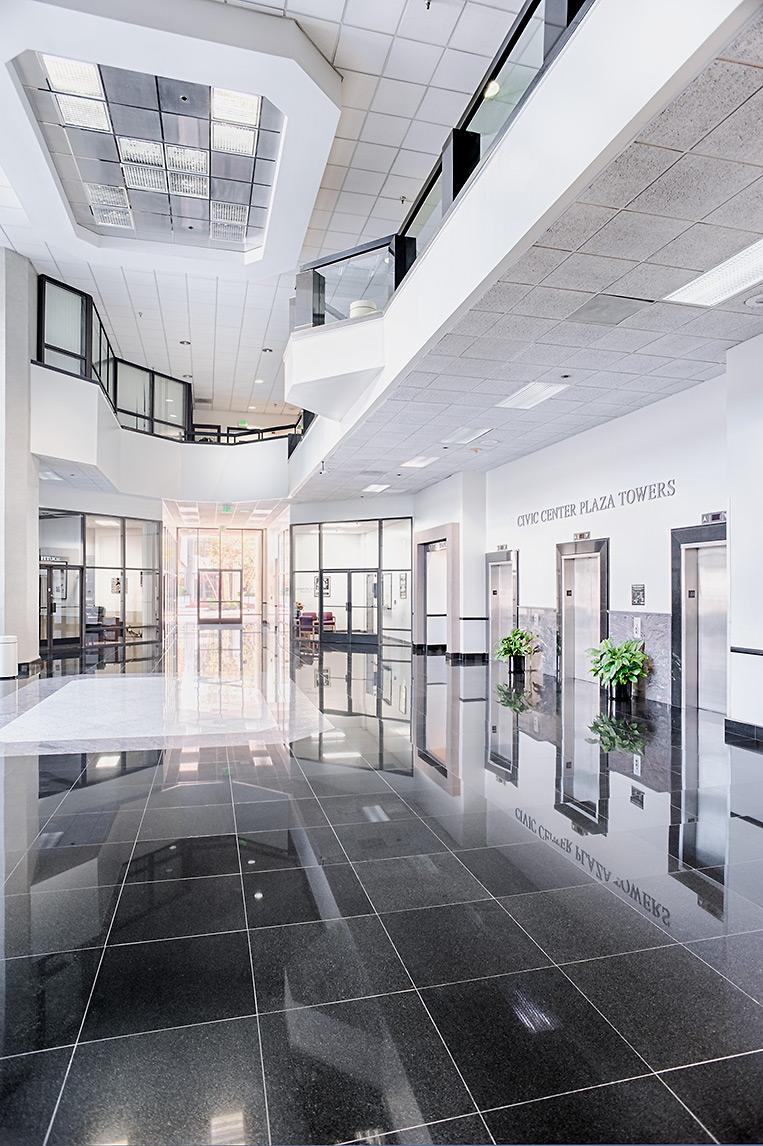 Civic Center Lobby, Santa Ana